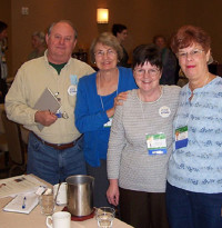 Authors John D. Wolf, Pauline Hager, Shirley Ann Parker and Linda Meckler